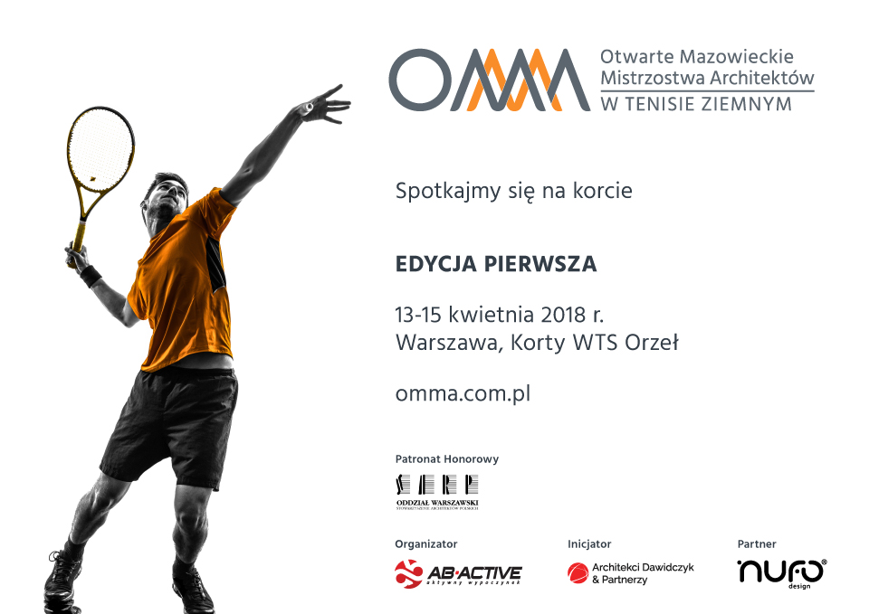The Open Mazovian Championship of Architects (OMMA) in tennis